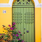 San Juan doorway by cclaude