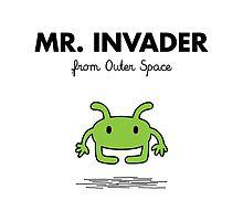 Mr. Invader by sebisghosts