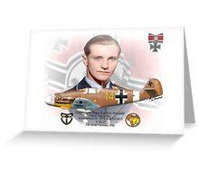 Hans-Joachim Marseille Greeting Card