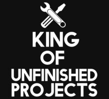 The king of unfinished projects by datthomas