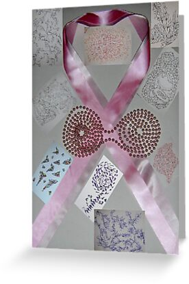 Pink Ribbons & Beads and the Art of Breast Cancer Treatment KazM by KazM