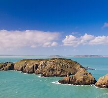 Coastal scene on the Channel Islands by chris2766
