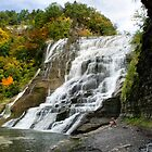 Ithaca Falls by Christina Rollo