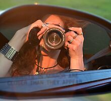 Auto Selfie by Tracy Deptuck