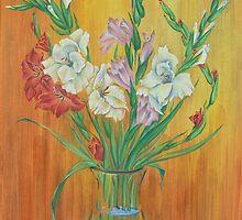 Gladioli in Color by BorisBurakov