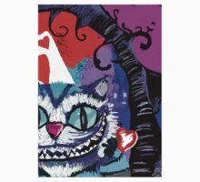 Cheshire Cat Smiling  by Octocat