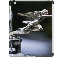 1928 Packard 526 Convertible Coupe Hood Ornament iPad Case/Skin