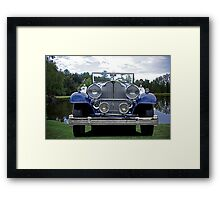 1932 Packard Victoria Convertible IV Framed Print