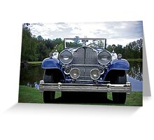 1932 Packard Victoria Convertible IV Greeting Card