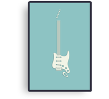 Guitar Art - Stratocaster Canvas Print