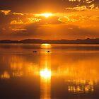 Golden Sunset  by Nicole  Markmann Nelson