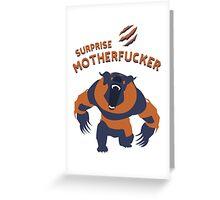 Ursa shirt dota2  Greeting Card