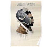Childish Gambino Droplet Poster