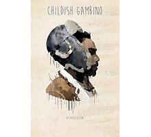 Childish Gambino Droplet Photographic Print