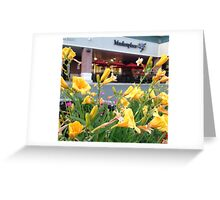 the marketplace Greeting Card