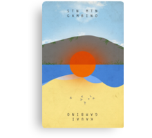 STN MTN Modified Text Canvas Print