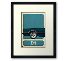Batmobile 66 part I of III Framed Print