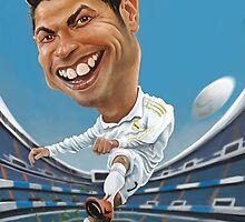 Cristiano Ronaldo by carloscastro