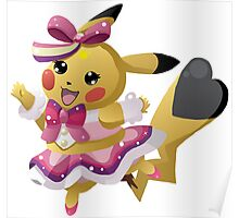 Pikachu Pop Star Poster