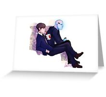 Harry and Electro Greeting Card