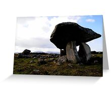 Kilclooney Dolmen, Co Donegal. Greeting Card