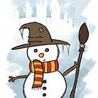 Gryffindor Christmas Card  by Jess Nixon