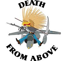 Death From Above by Artsworth