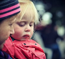 Sad little Rosy Cheeks by Karen E Camilleri