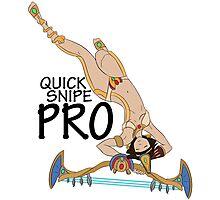 Neith- Quick Snipe Pro! Photographic Print