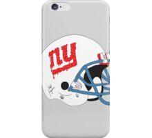 NY Giants Helmet Drips iPhone Case/Skin