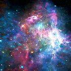 Nebula Galaxy Print by NancyAnnDesign