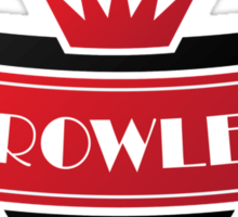 Crown Crowley Sticker