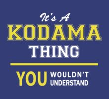 It's A KODAMA thing, you wouldn't understand !! by satro