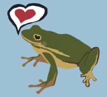 Frog- love Kids Clothes