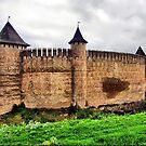 Khotyn castle by Elena Skvortsova