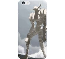 Shadow of the colossus inspired painting iPhone Case/Skin