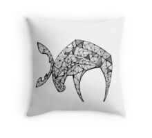 The Last Angry Moose Throw Pillow
