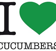 I ♥ CUCUMBERS by eyesblau