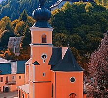 The village church of Helfenberg III   architectural photography by Patrick Jobst