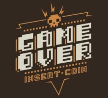 Game Over by DemonigoteTees