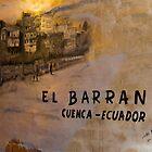 El Barranco Mural in Cuenca Ecuador by Al Bourassa