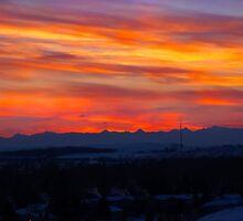 Gotta Miss Alberta Sunsets by Al Bourassa