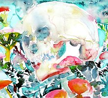 SKULL and MUSHROOMS by lautir