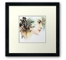 Wild Cranes Framed Print