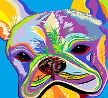 French Bulldog by EloiseArt