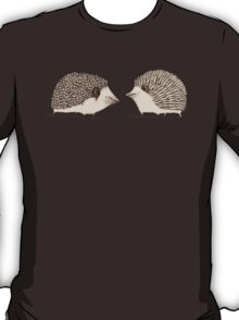 Two Hedgehogs T-Shirt