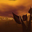 Golden flowers by Shoshana Epsilon