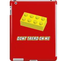 Don't Tread On Me Block iPad Case/Skin