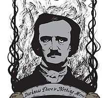 Edgar Allan Poe - The Raven by kreepykustomz
