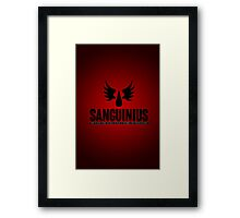 Sanguinius - Blood Angels - Damaged Framed Print